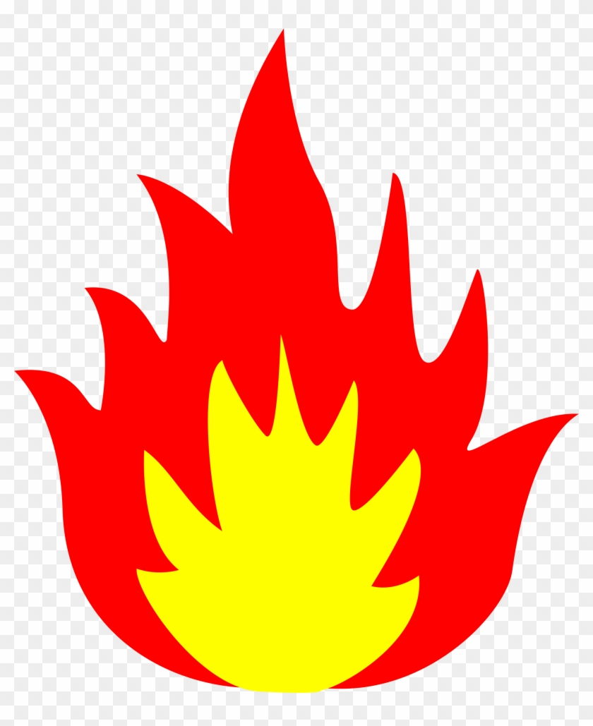 Big Image - Animated Gif Fire Triangle #24434