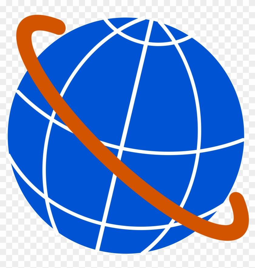 Big Image - Globe Clipart #24441