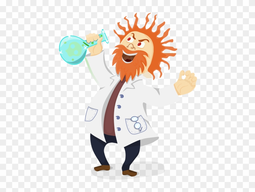 Free Mad Scientist Clip Art - Scientist Png #24486