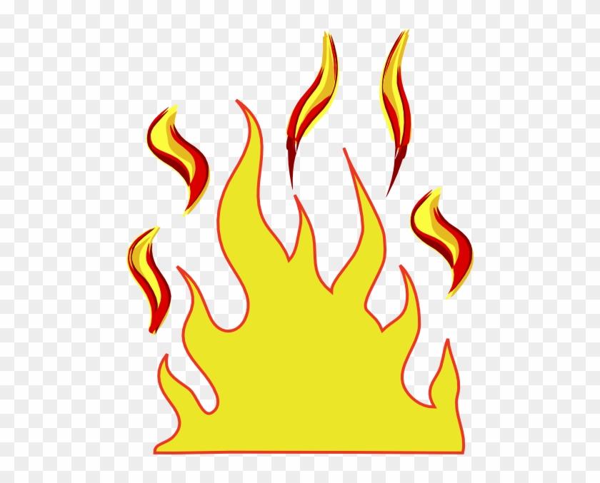 Flames Clip Art #24491