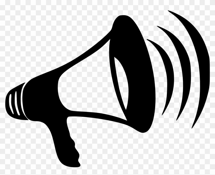 Clip Arts Related To - Bullhorn Clipart #24506
