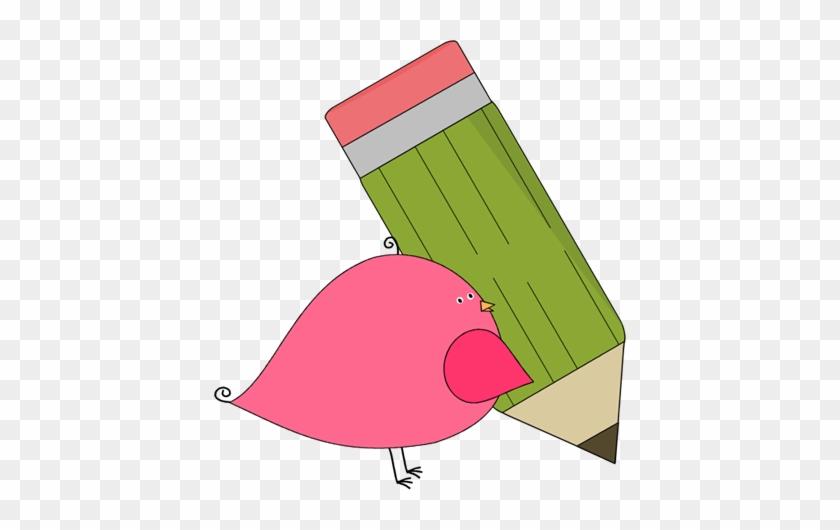 Bird - Bird With A Pencil #24508