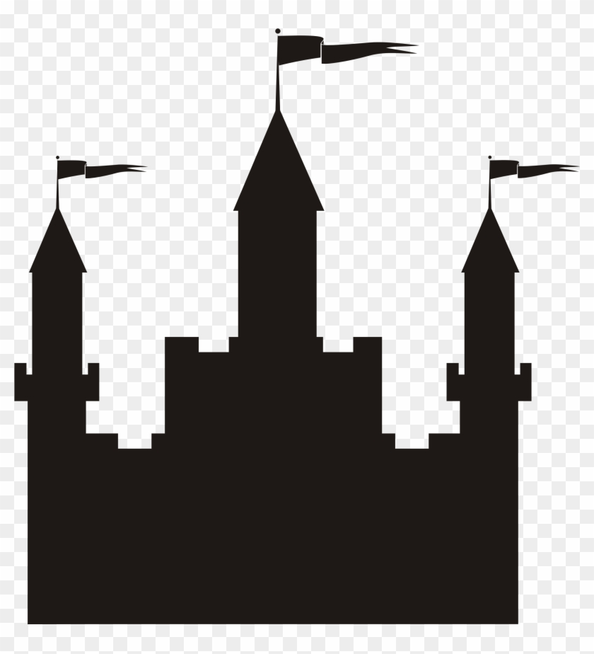 Castle Silhouette Icons Png - Castle Silhouette #24511