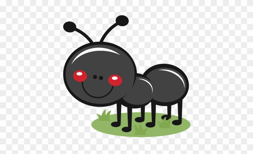 Ant Clipart Cute Pencil And In Color Ant - Cute Ant Clipart #24542