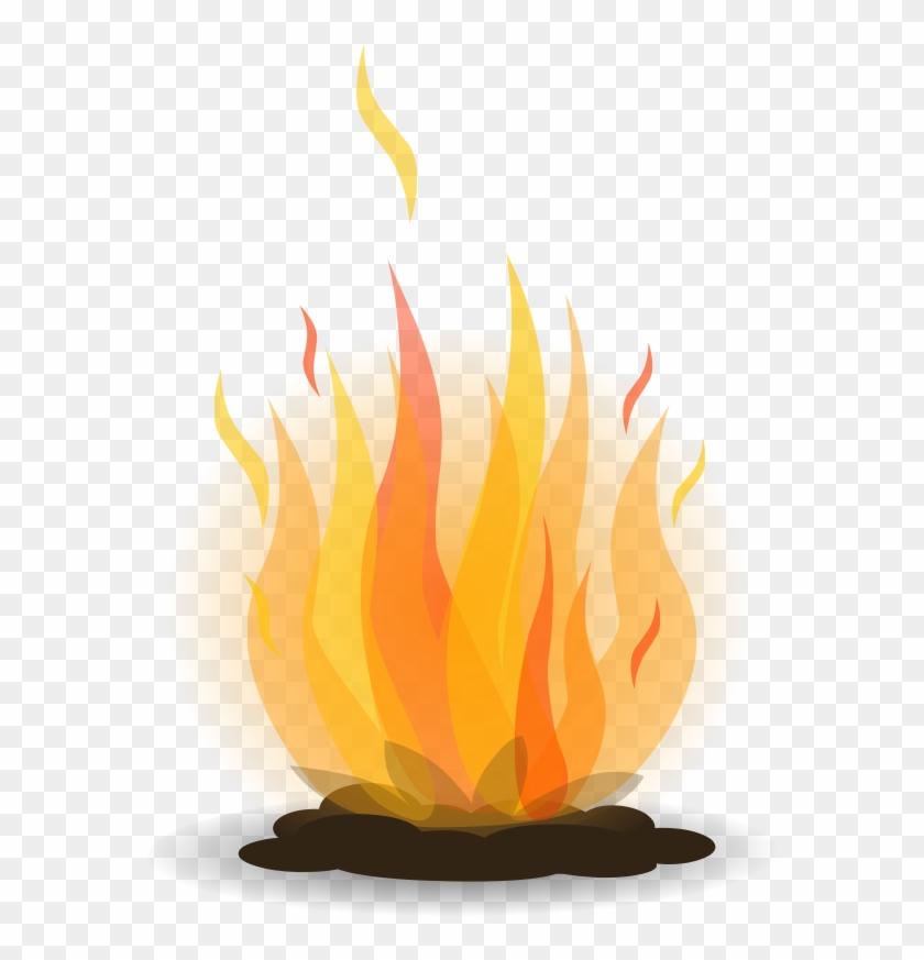 Free Bonfire Clipart - Bonfire Png #24572