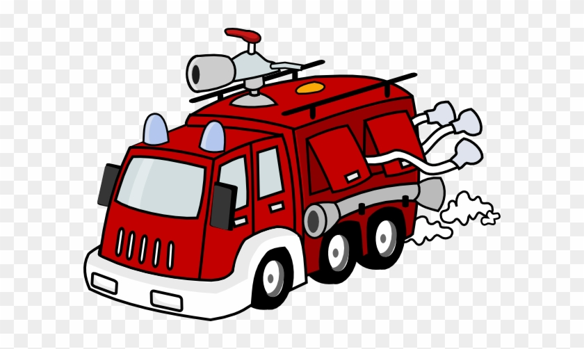 Image Of Ambulance Clipart 8 Truck Clipartoons - Fire Station Clip Art #24601