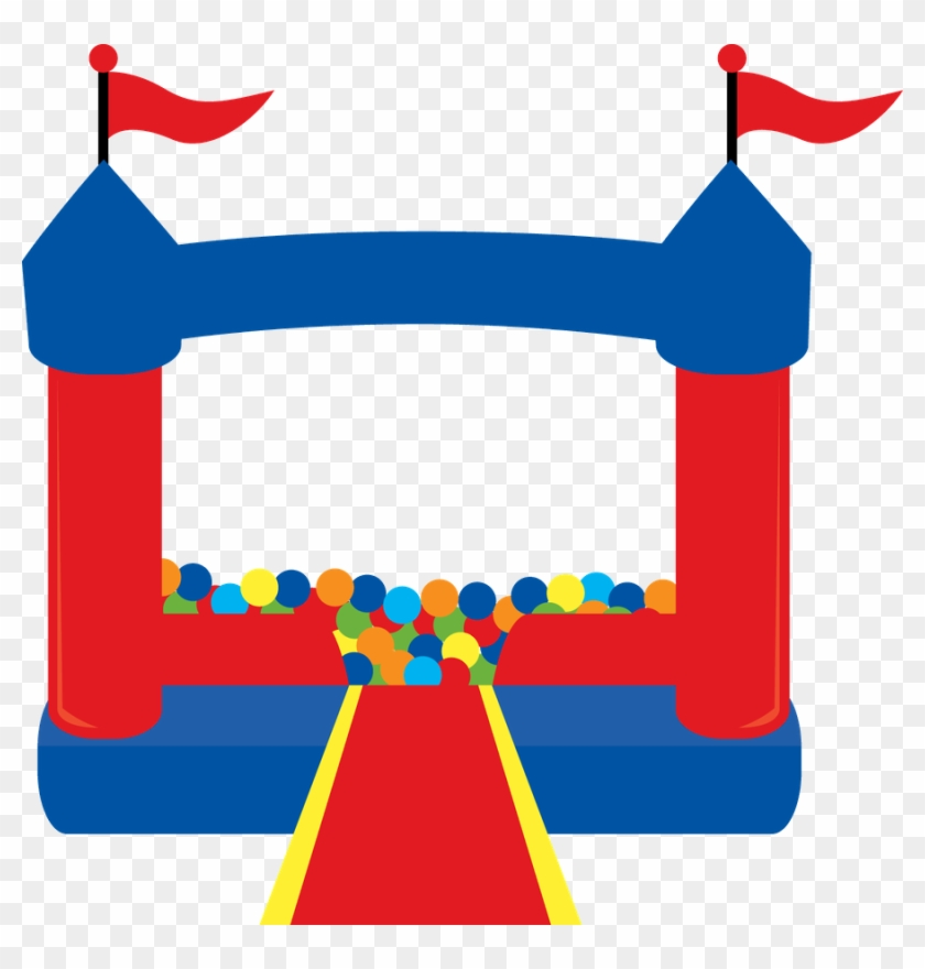 Clipart Bouncy House Bounce Clip Art For Free - Bounce House Clipart Png #24614