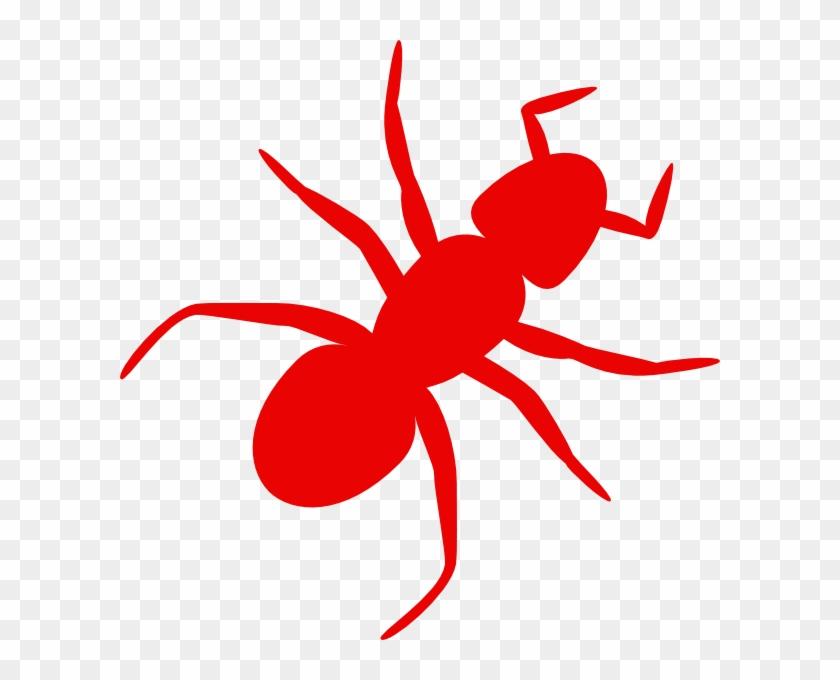 Ants Clip Art Hostted - Huntington Red Devils Logo #24619