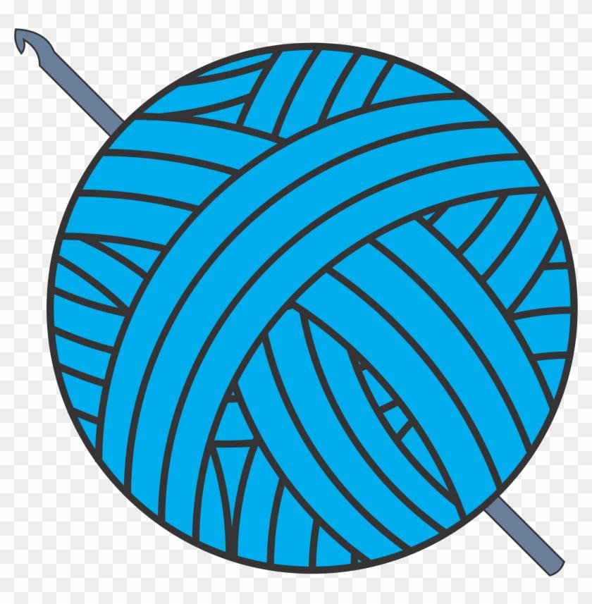 Clip Art Ball Of Yarn Clipart Clipground - Clip Art Yarn #24654