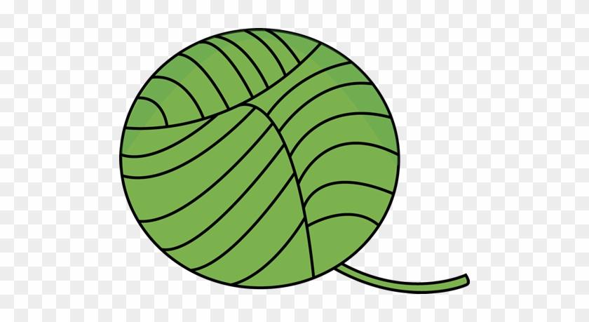 Green Ball Of Yarn - Green Ball Of Yarn #24677