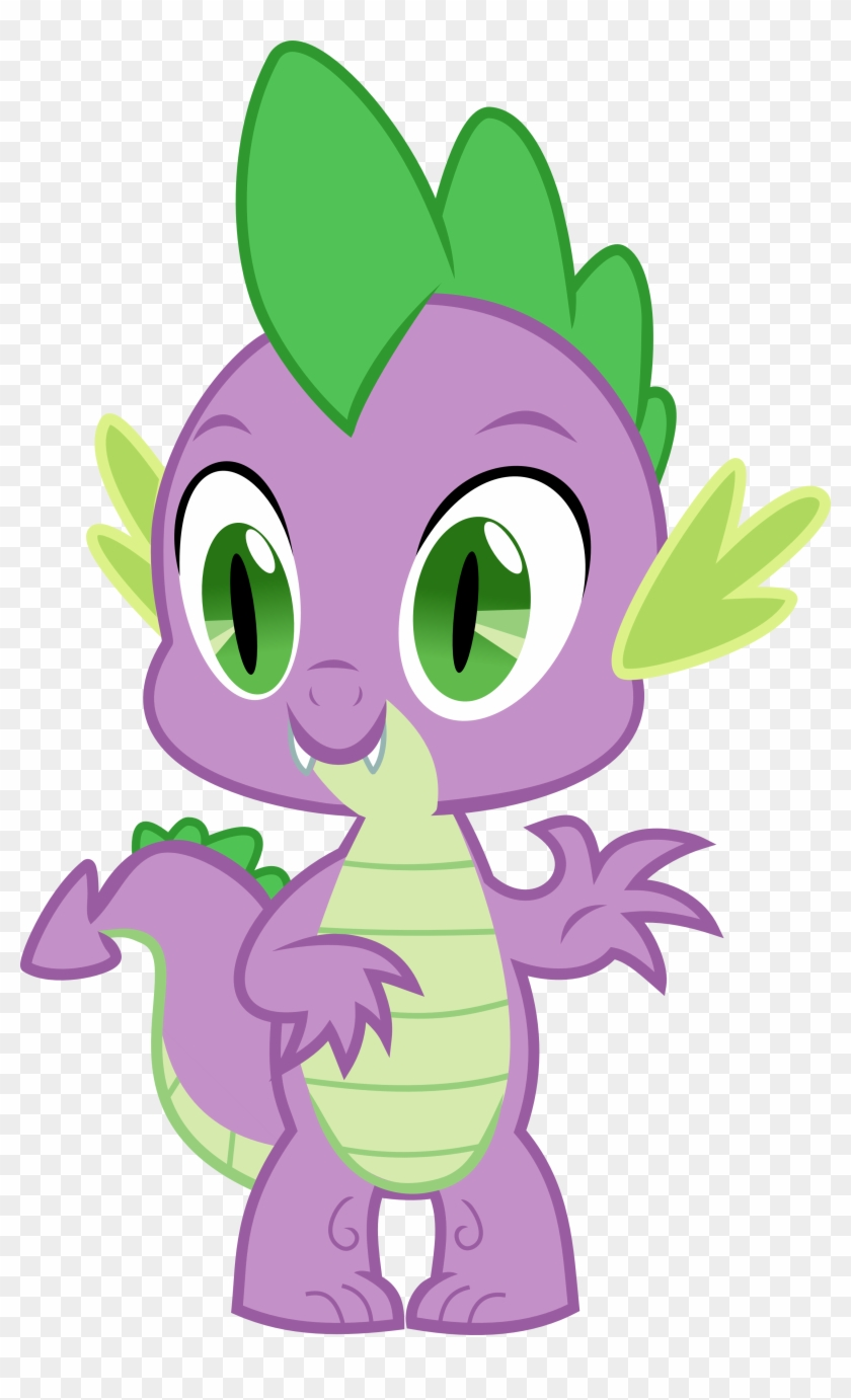 My Little Pony Clipart Castle - My Little Pony Friendship Is Magic Spike #24689