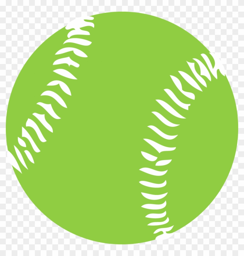 Softball Clipart Free Graphics Images Pictures Players - Green Baseball Clipart #24701
