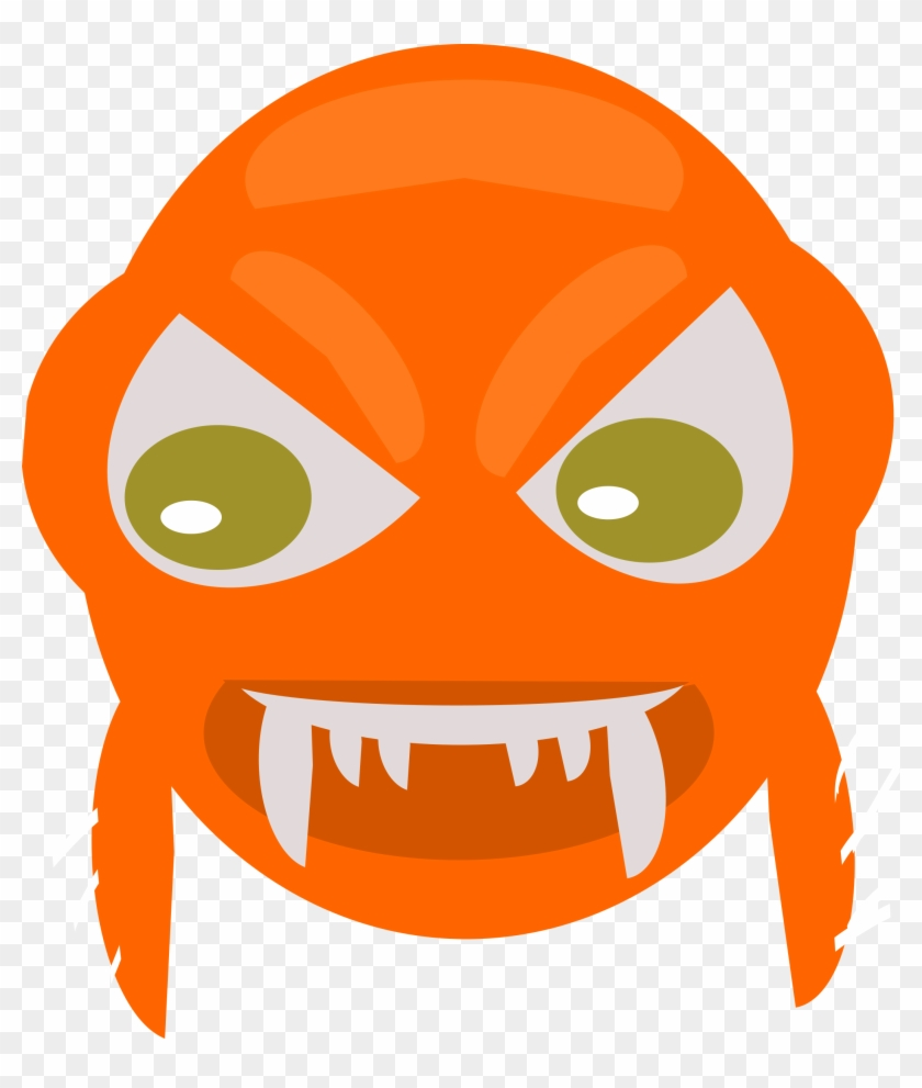 Majestic Design Angry Face Clipart Fish Big Image Png - Angry Fish Cartoon Transparent #24707