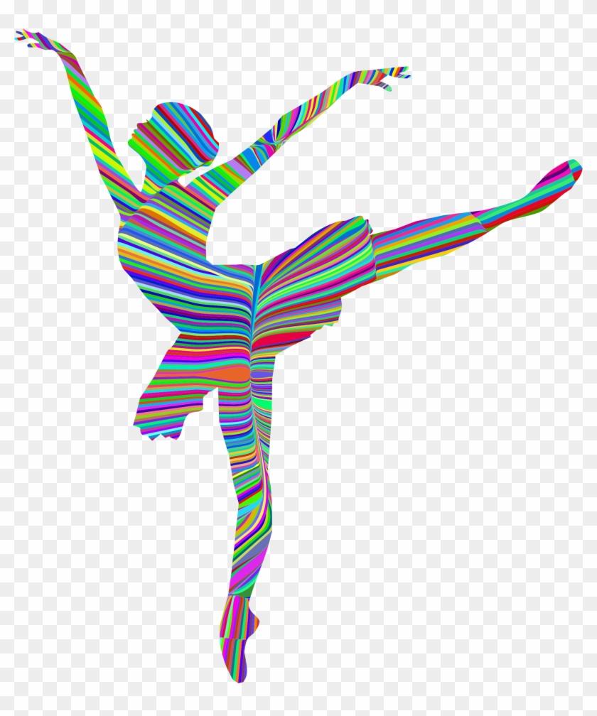 Clipart - Ballerina Dance Silhouette Png #24726