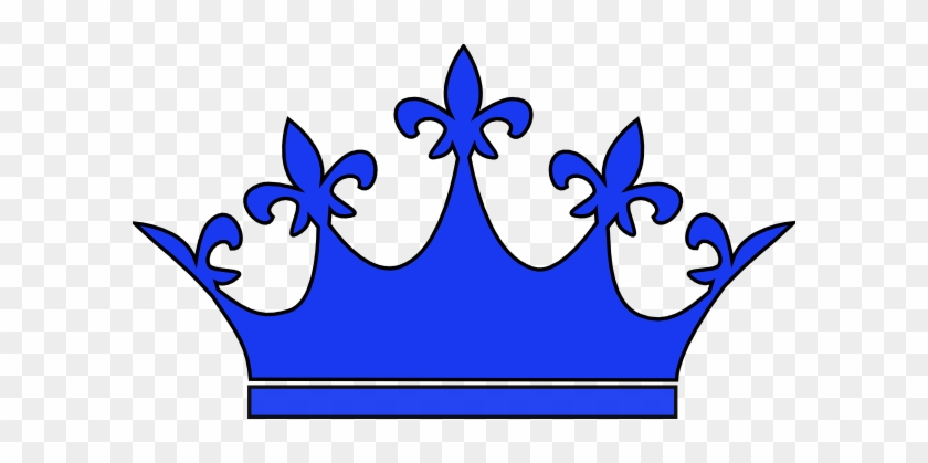Queen Crown Royal Blue Clip Art At Vector Clip Art - Tiara Clip Art #24729