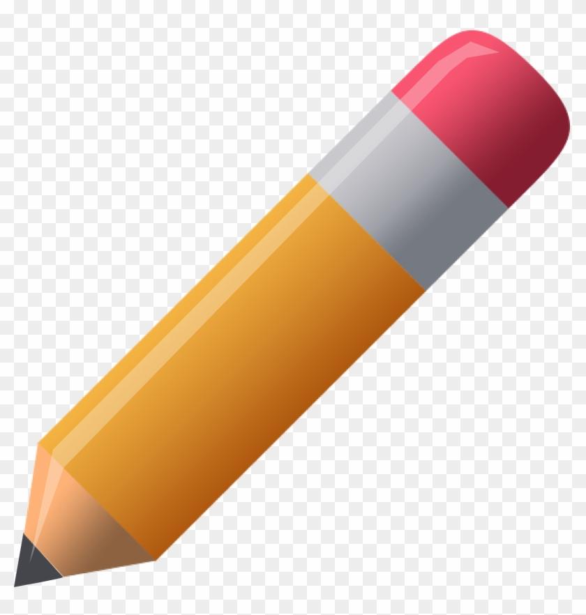 Pencil Clip Art Free Clipart Images 3 Clipartandscrap - Dibujos De Materiales Aislantes #24733