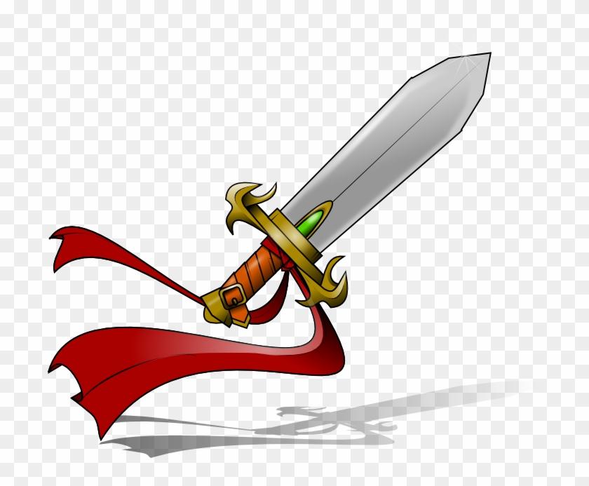Free Castle - Fantasy Sword Clipart Png #24739