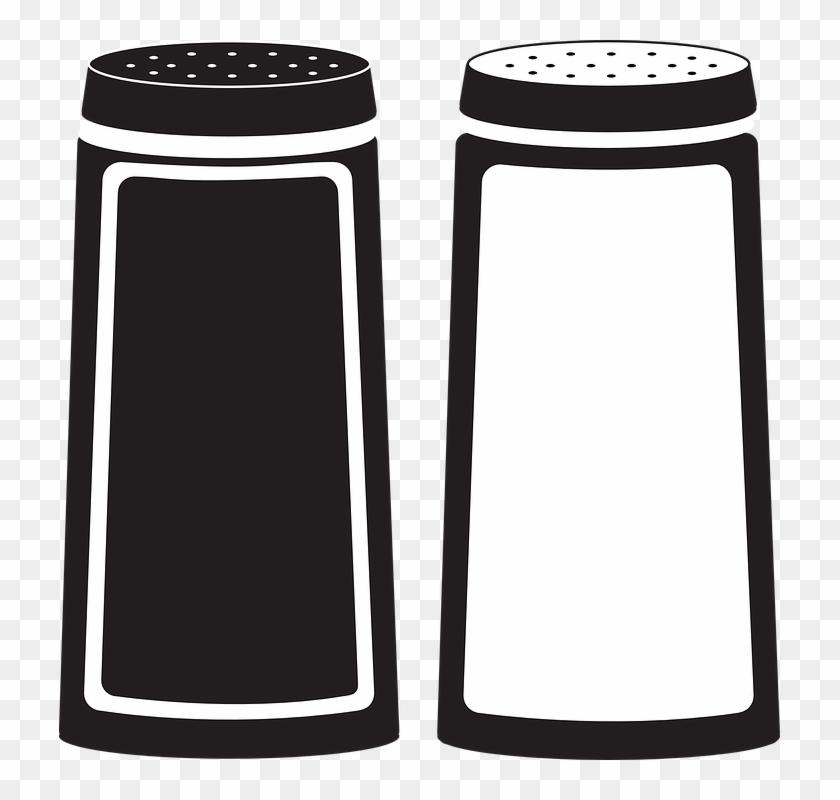 Salt Clip Art - Salt And Pepper Shakers Clip Art #24792