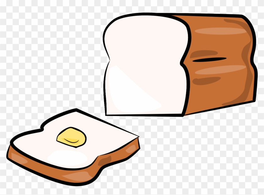 Bread Clipart Transparent - Cartoon Bread And Butter #24798