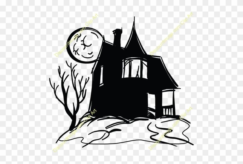 Haunted - Castle - Clipart - Clip Art #24813
