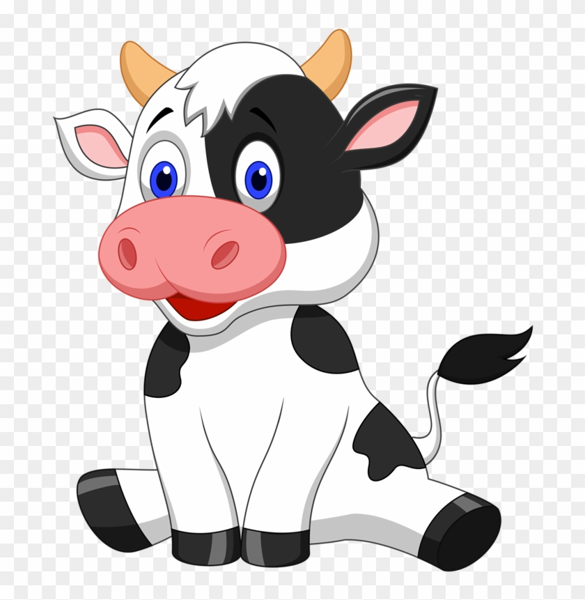 Cow Clipart Transparent Background Pencil And In Color - Baby Cows Clipart #24819