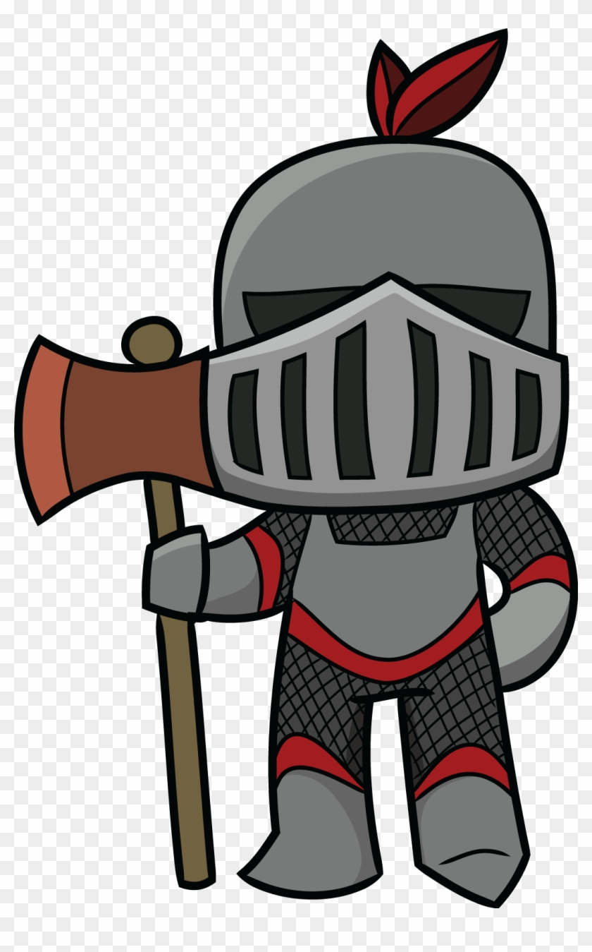 Knight Clipart Black And White Free Images Image - Knight Middle Ages Clipart #24835