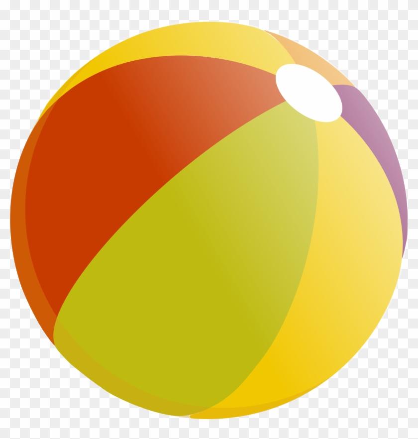 Beach - Beach Ball Vector Png #24848