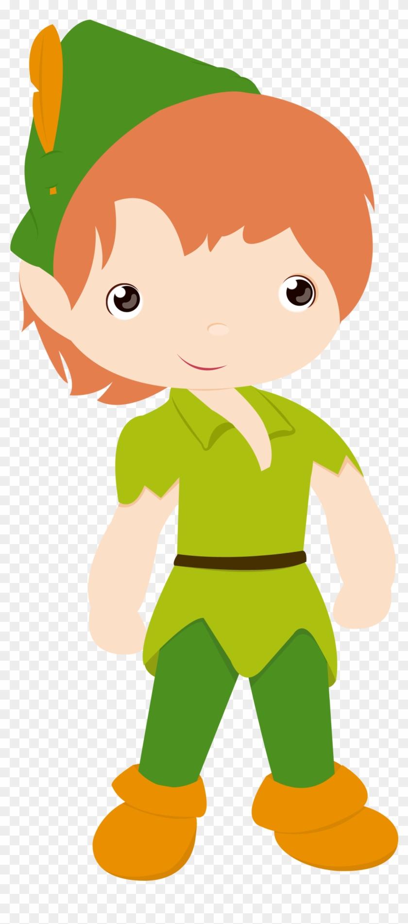 Peter Pan E Sininho - Robin Hood Clipart Png #24853