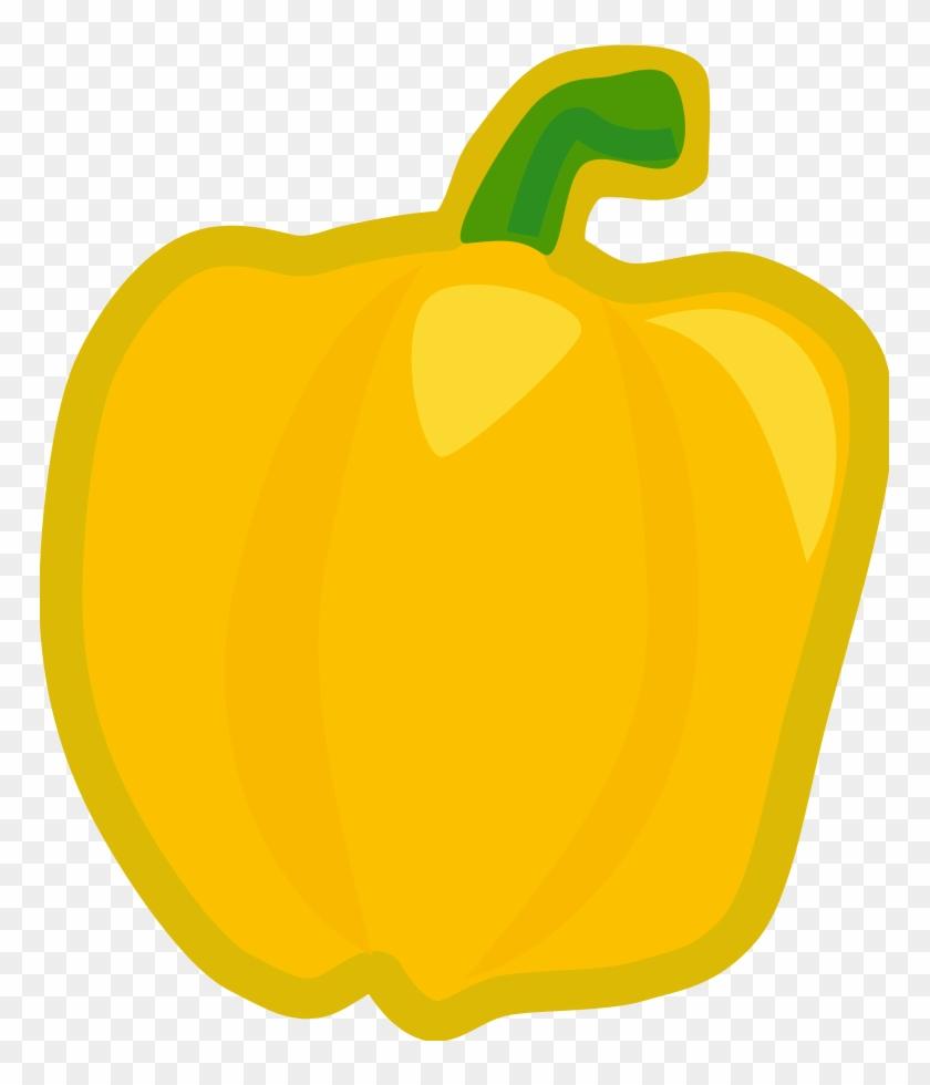 Yellow Pepper - Yellow Pepper Clip Art #24865