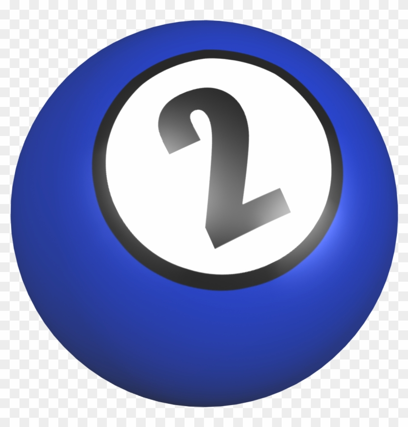 Number 2 Ball With Image From Clipart Free Clip Art - Number #24872