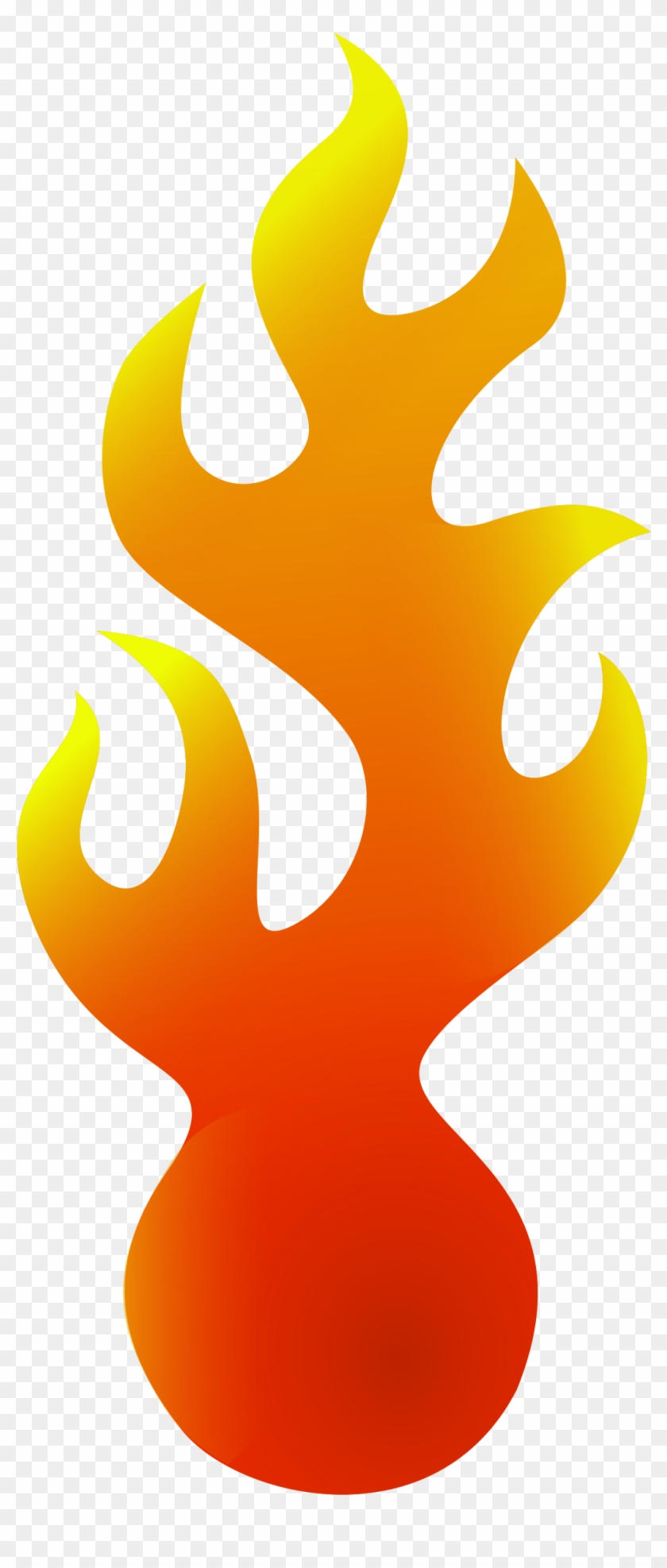 Fire Clip Art To Coloring Pages Free Clipart Images - Bola De Fogo Vetor Png #24885