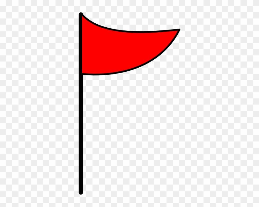Golf Flag Clip Art Black And White Free Clipart - Flag Clipart #24949