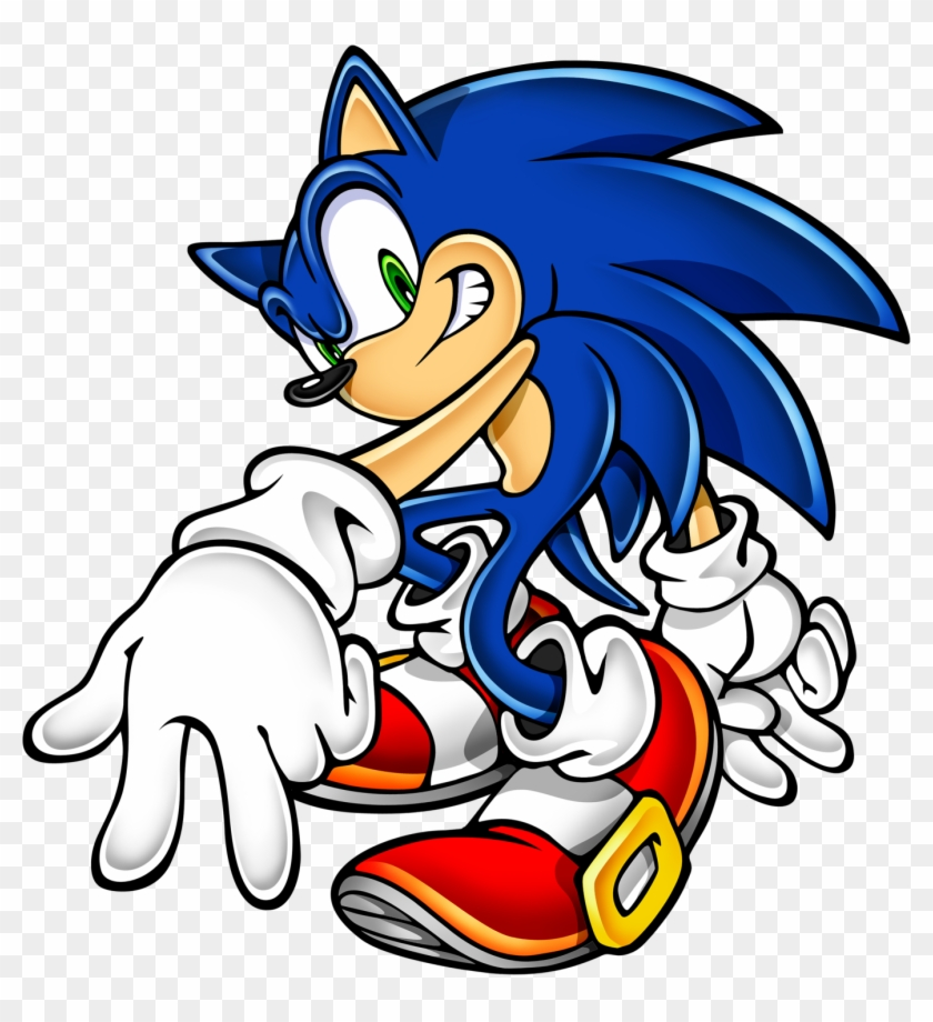 Sonic Art Assets Dvd Shadow The Hedgehog 4 Clipart - Sonic The Hedgehog Png #24956