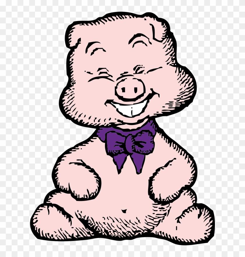 1 - Pig Clip Art #24964