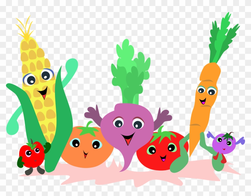 Fruit And Vegetables Clipart #24985