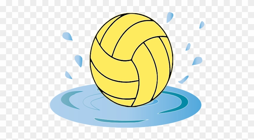 Clip Art Of Water Polo Ball Clipart - Volleyball Template #24994