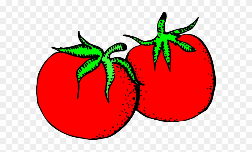 Tomato Clipart Cartoon - Fruit And Vegetable Clip Art #24995