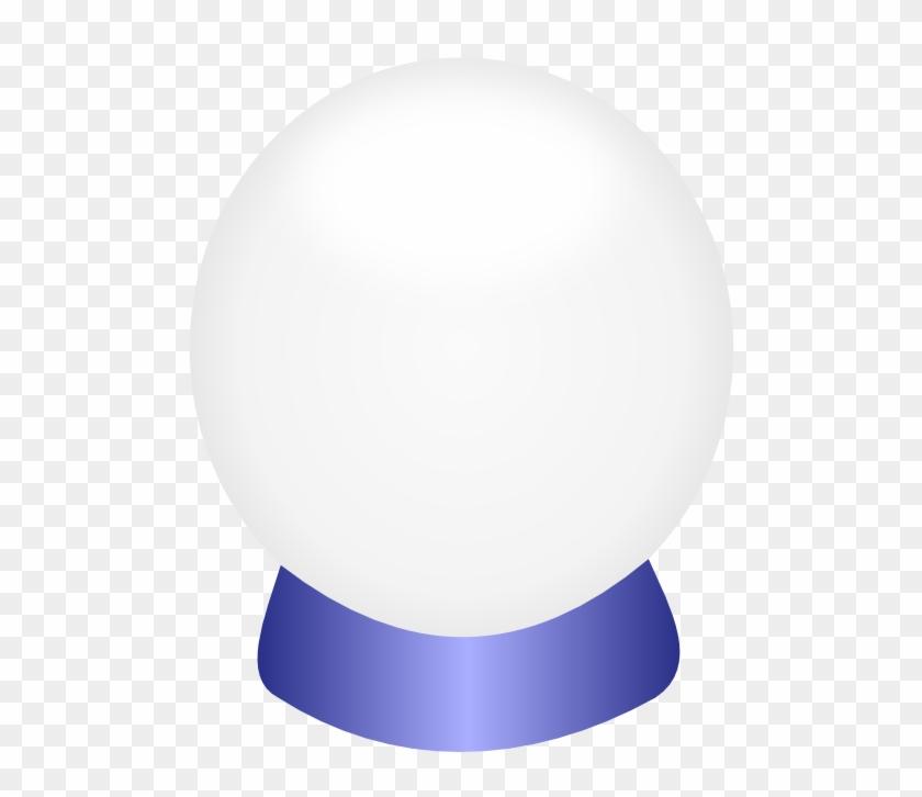 Crystal Ball Clip Art - Crystal Ball Clipart Transparent #25001