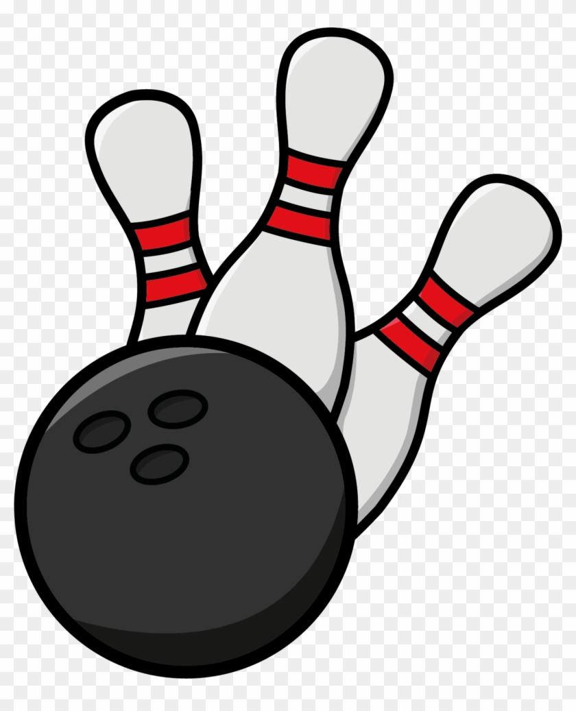 Bowling - Clip Art Bowling #25011
