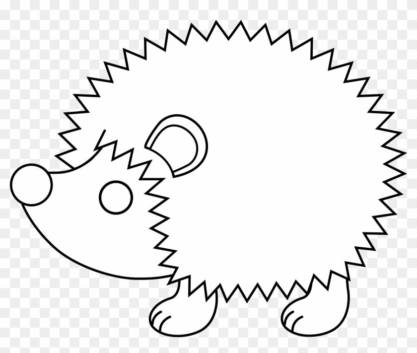 Hedgehog Line Art Preschoolers Pinterest Hedgehogs - Hedgehog Pictures To Colour #25025