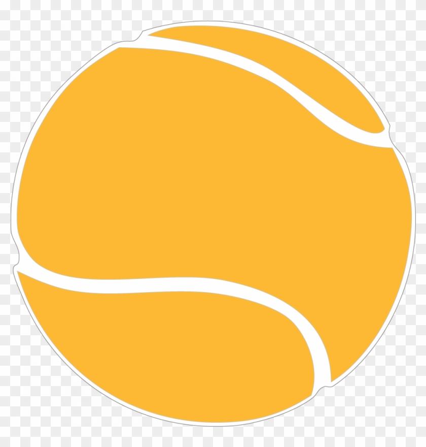 Tennis Ball Cliparts - Tennis Green Ball Png #25038
