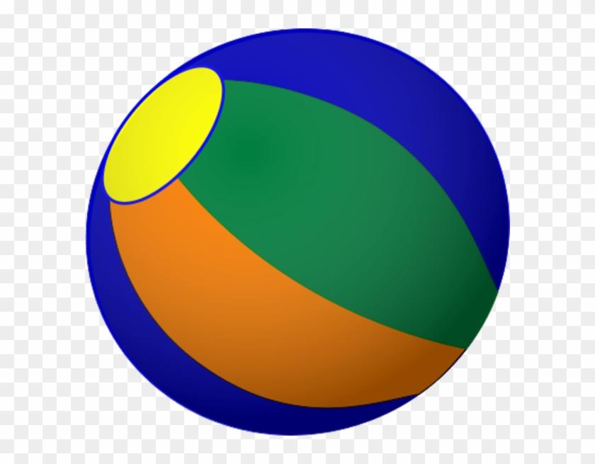 Beachball Beach Ball Clip Art Vector Hubprime - Beach Ball #25061