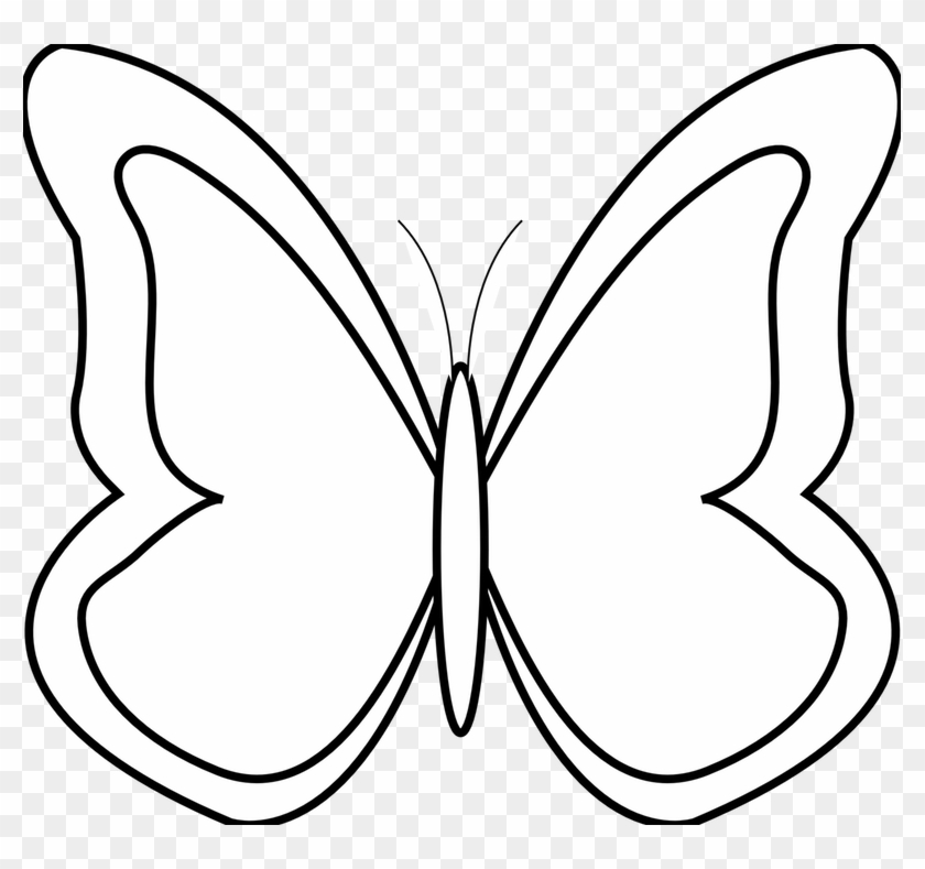 Google Images Clip Art Free Of Fish - Butterfly Black And White Clip Art #25110