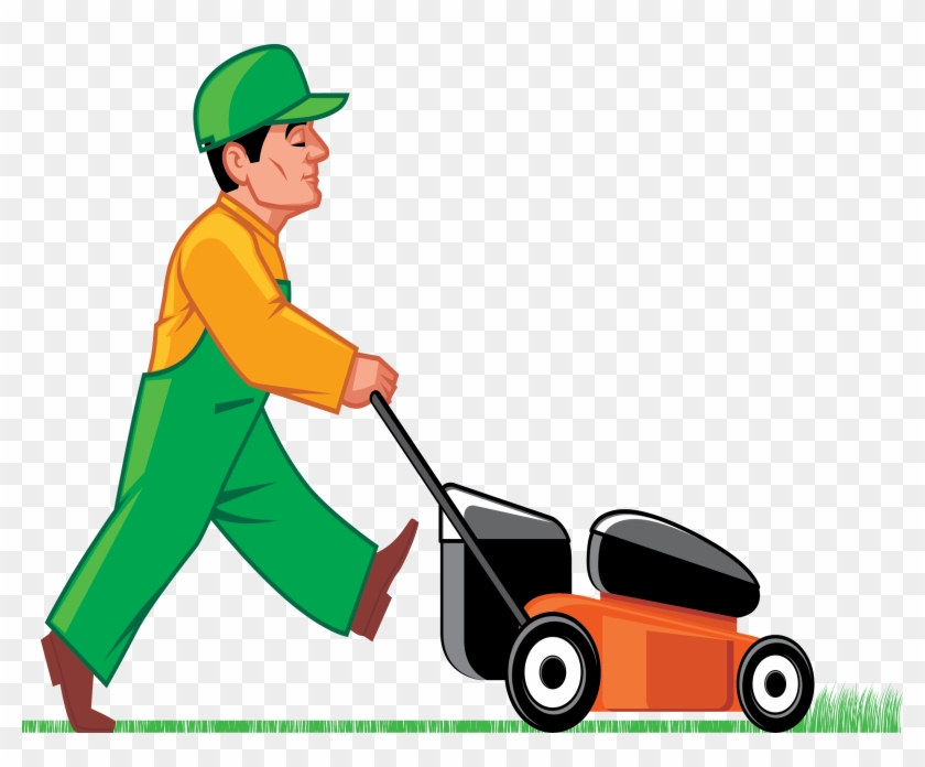 Lawn Clipart Grass Cutter - Lawn And Handyman Services #25130