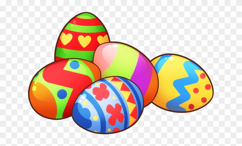 Easter Eggs In Grass Clip Art - Easter Egg Clip Art #25213