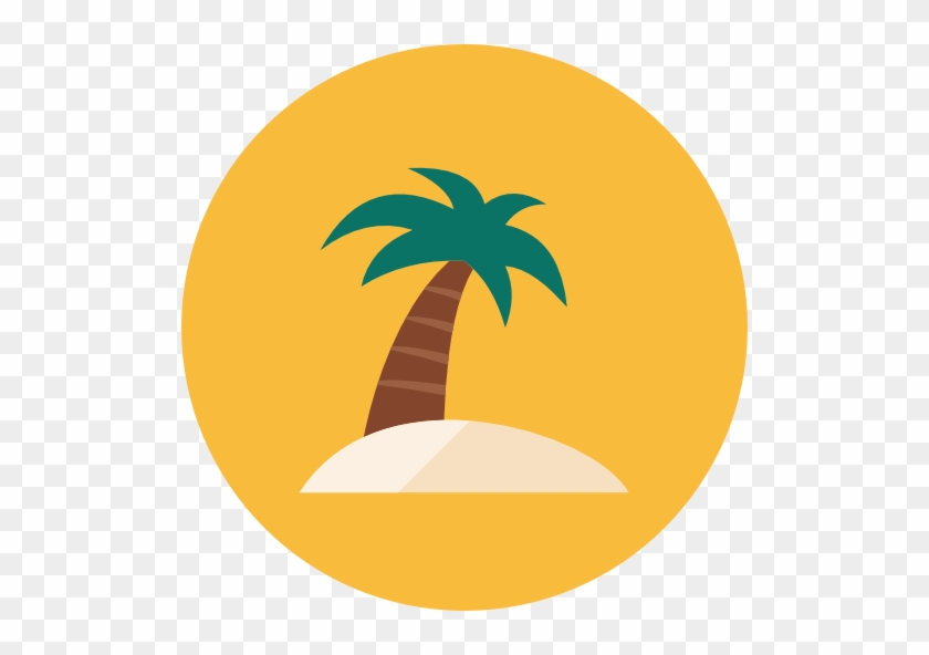 Beach Transparent Png - Beach Icon Transparent #25205
