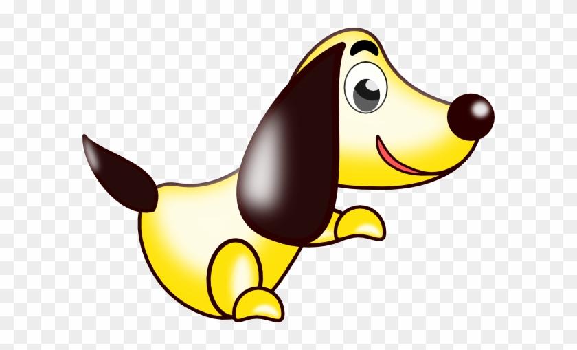 Free Vector Cartoon Dog Clip Art - Custom Cartoon Dog Shower Curtain #25197