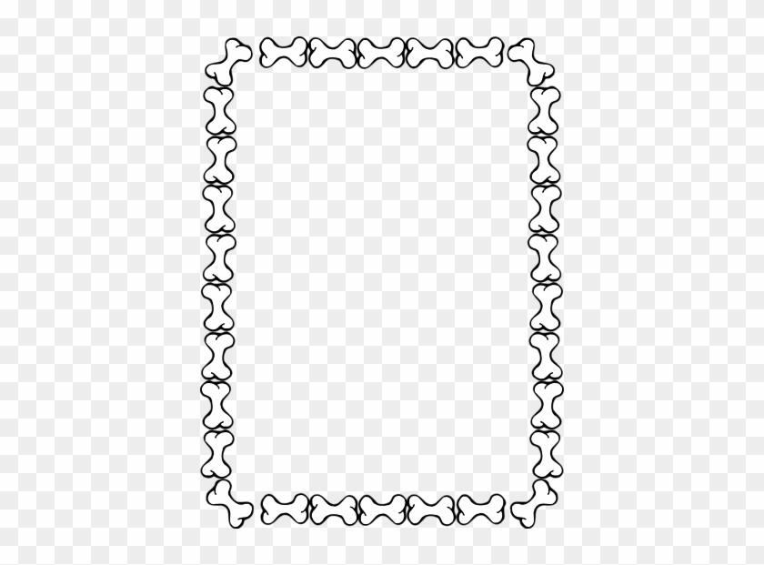 Dog Borders Free Download Clip Art On Clipart Border - Dear Mrs Larue Activities #25198