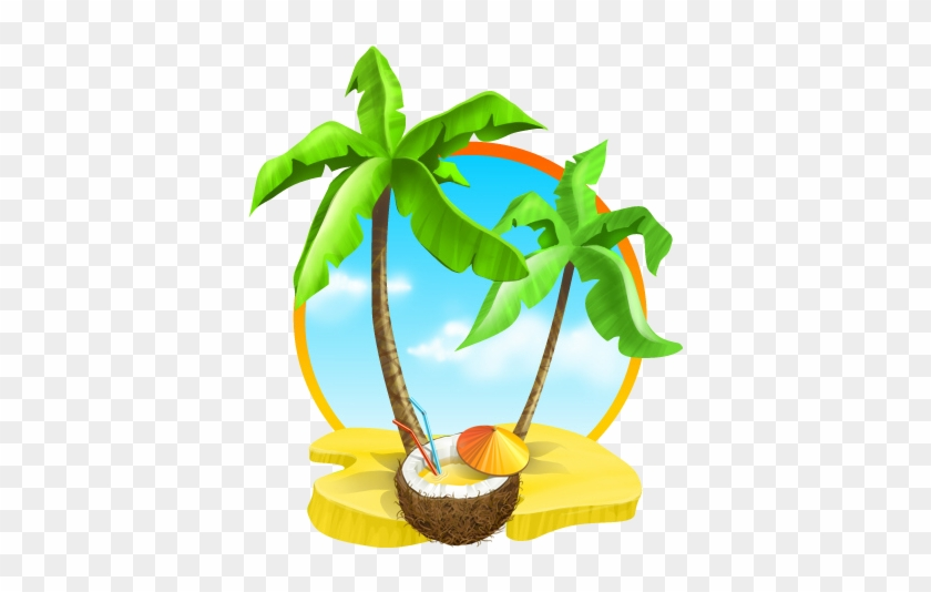 Image Is Not Available - Coconut Tree Beach Png #25208