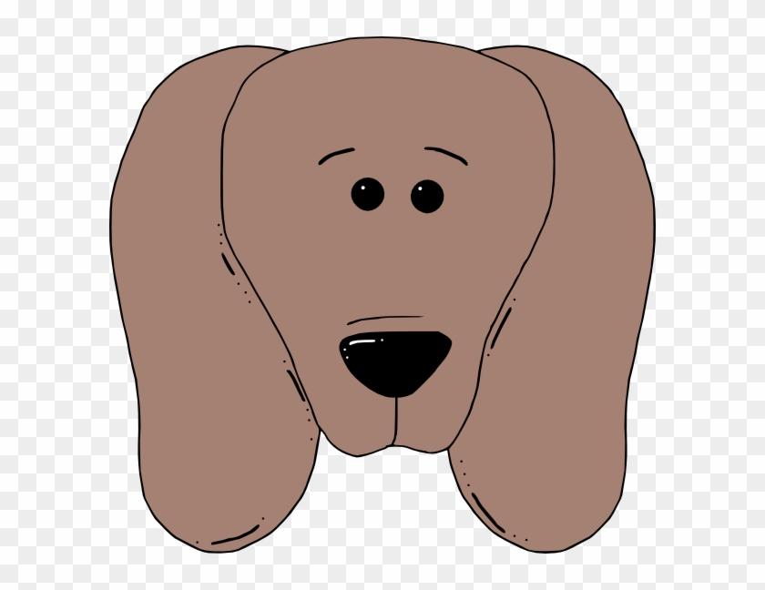 Puppy Dog Face Clip Art - Face Mask Of Dog #25214